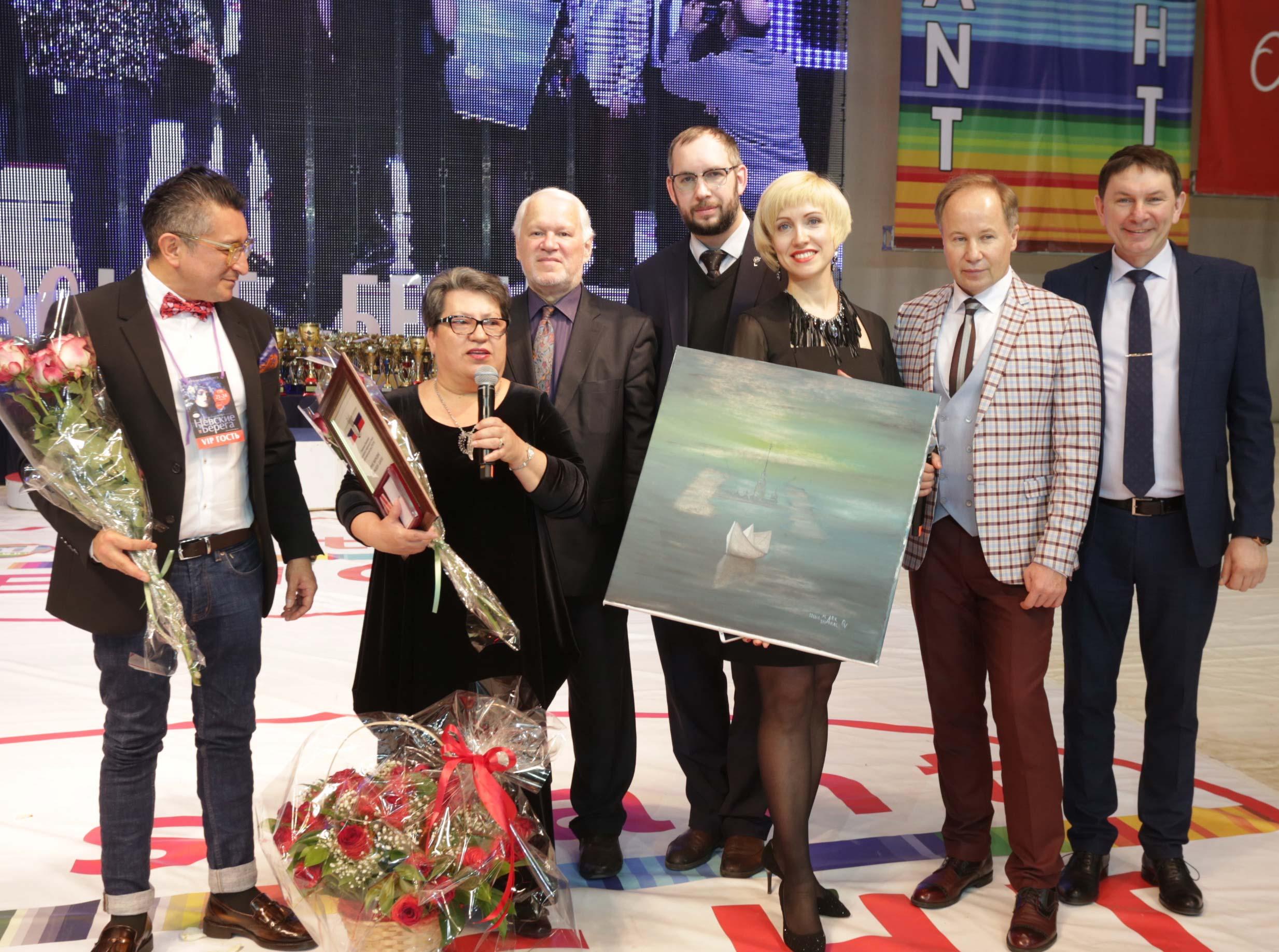 Irina Markov-Shagal i Nevskie Berega
